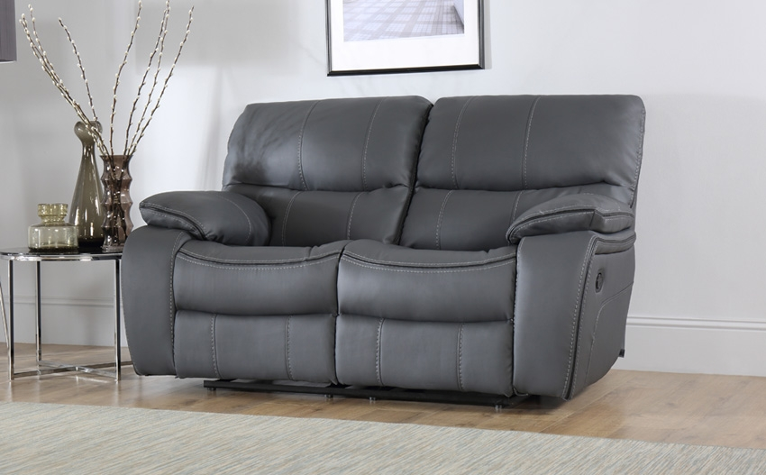 2 Seater Recliner Sofas Furniture Choice In 2 Seater Recliner Leather Sofas (#2 of 15)