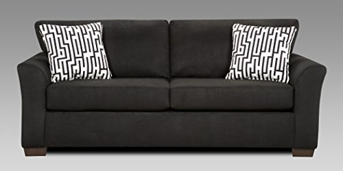 2 Seater Sofa Amazon For Black 2 Seater Sofas (#1 of 15)