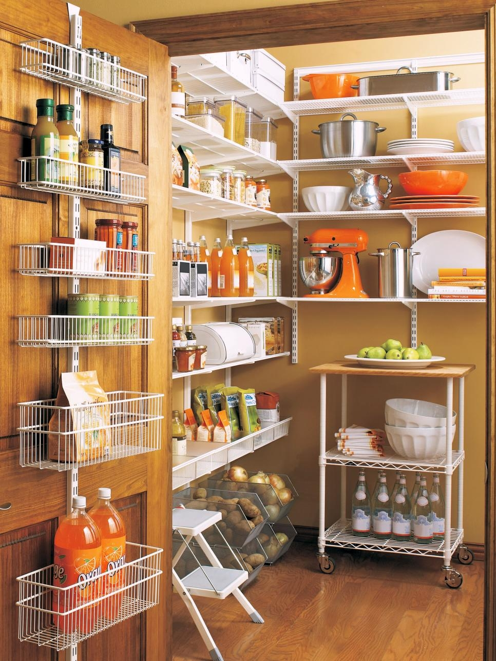 20 Best Pantry Organizers Hgtv Within Home Shelving Systems (#1 of 15)
