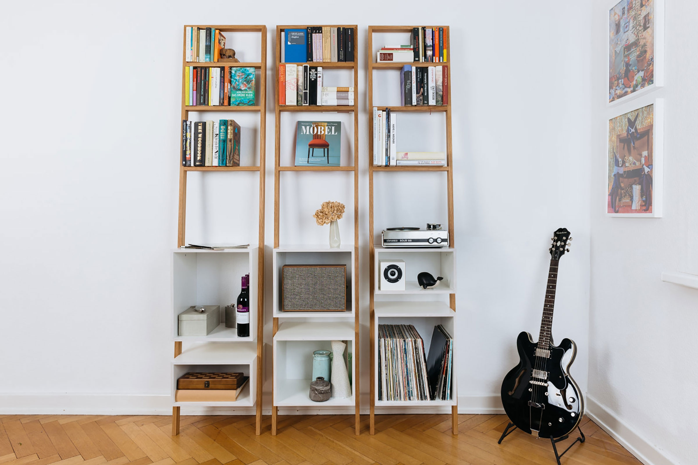 21 Perfect Diy Ladder Bookshelf Bookcase Ideas Regarding Bookcase Cover (View 1 of 15)