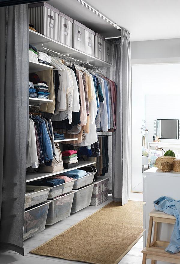 25 Best Diy Wardrobe Ideas On Pinterest Wardrobe Ideas Diy Throughout Bedroom Wardrobe Storages (#1 of 15)
