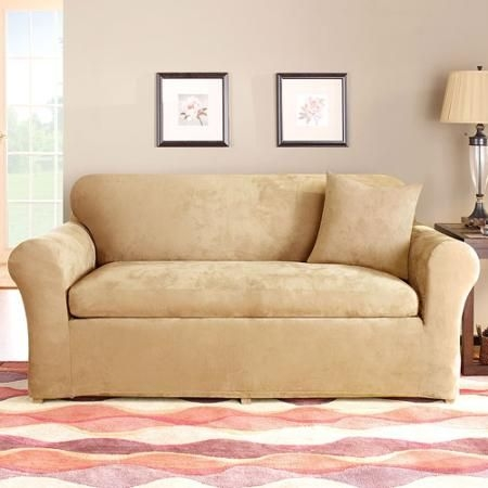 25 Best Loveseat Slipcovers Images On Pinterest In Sofa Loveseat Slipcovers (#1 of 15)