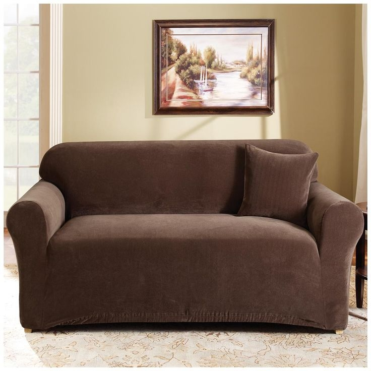 25 Best Loveseat Slipcovers Images On Pinterest With Regard To Sofa Loveseat Slipcovers (#4 of 15)