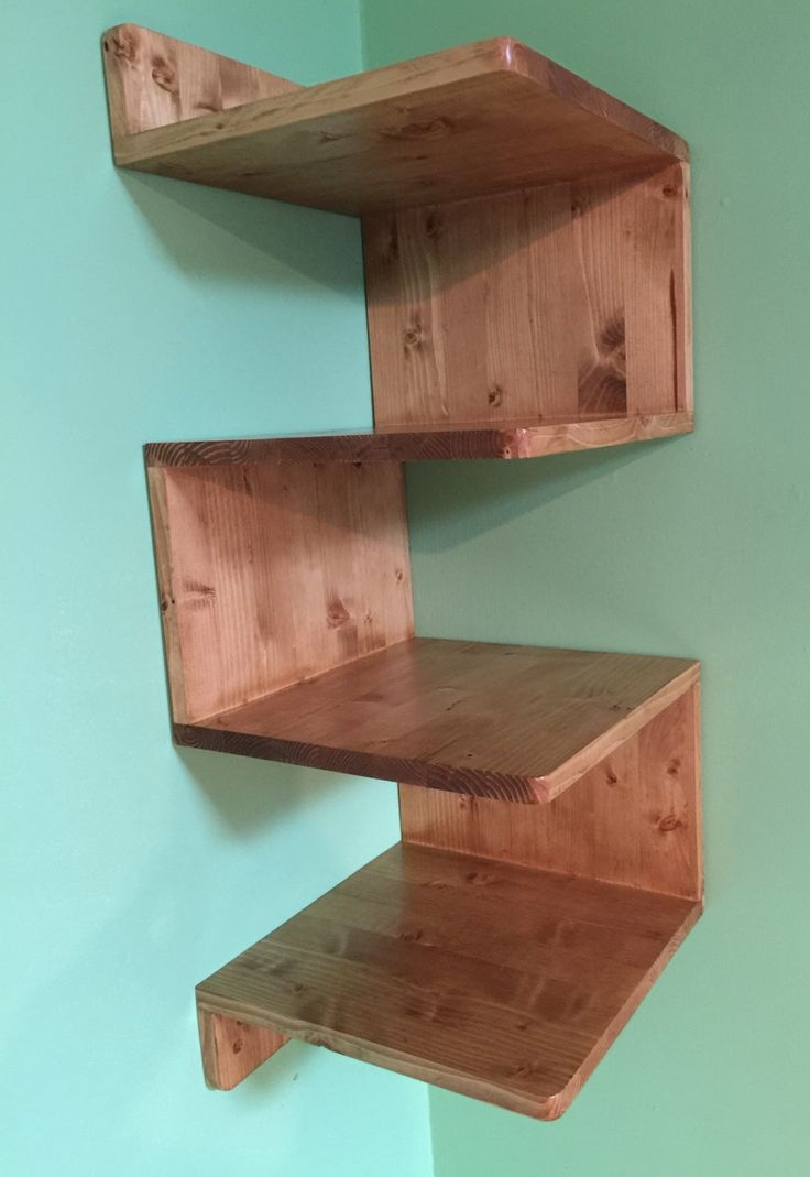 25 Best Wood Shelving Units Ideas On Pinterest Throughout Wooden Shelving Units (#1 of 15)