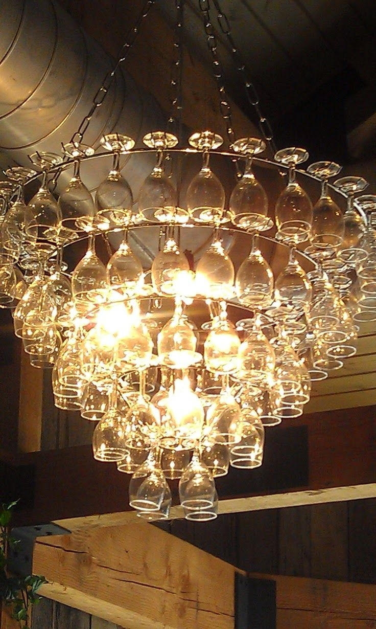 25 Great Ideas About Glass Chandelier On Pinterest Dining Intended For Glass Chandeliers (#2 of 12)