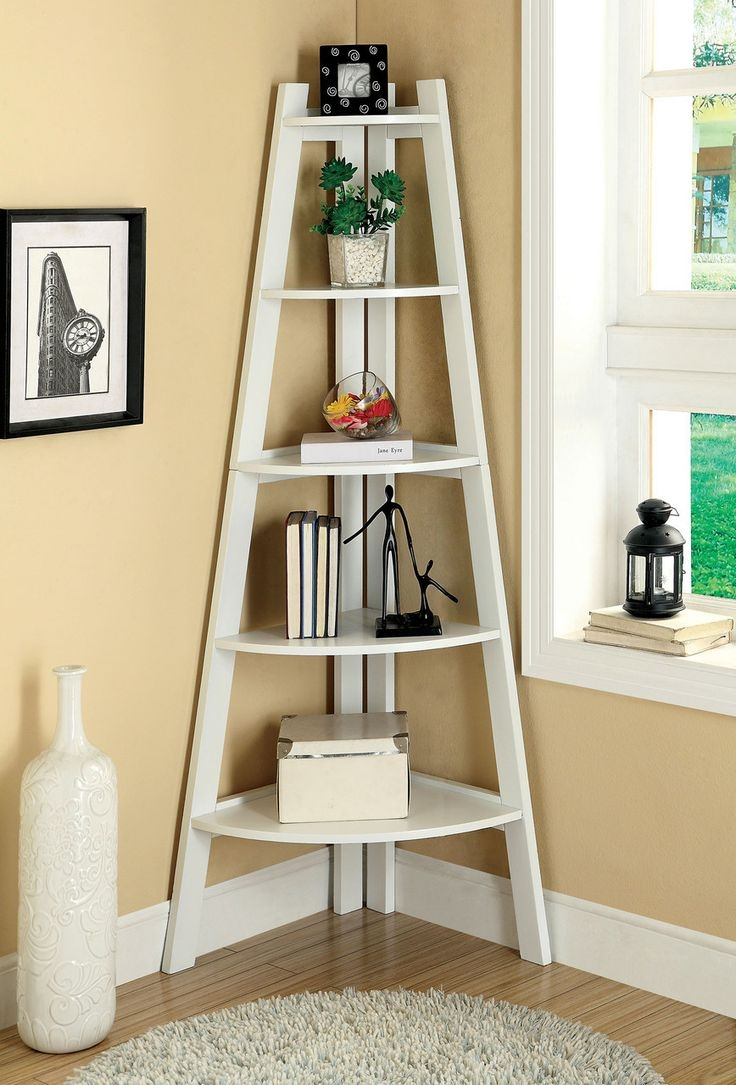 25 Great Ideas About Ladder Shelves On Pinterest Intended For Ladder Shelves (#1 of 15)