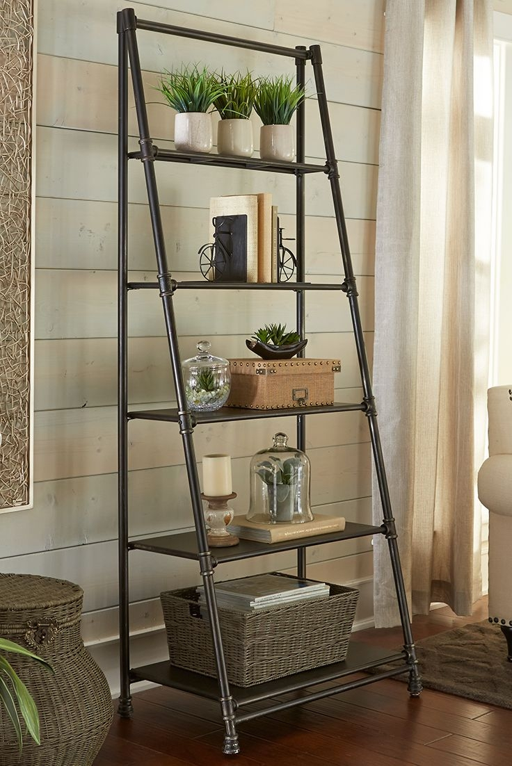 25 Great Ideas About Ladder Shelves On Pinterest With Regard To Ladder Shelves (#2 of 15)