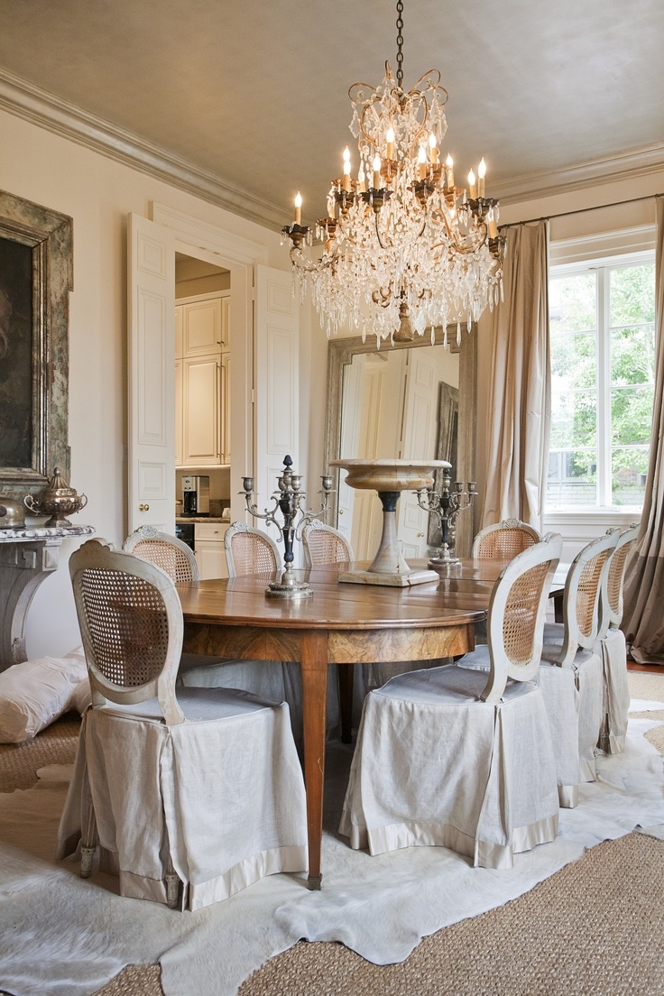 257 Best Images About French Interiors On Pinterest With Regard To Country Chic Chandelier (#3 of 12)