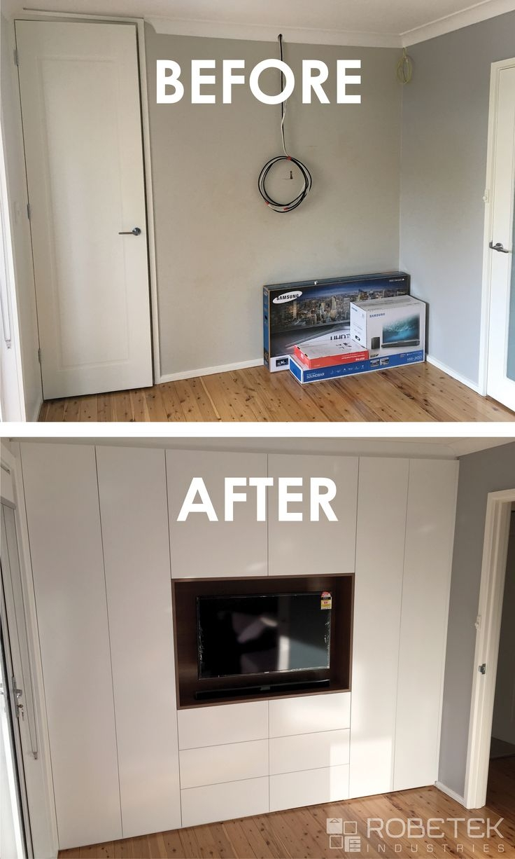 32 Best Built In Wardrobes Images On Pinterest Throughout Built In Wardrobes With Tv Space (View 5 of 10)