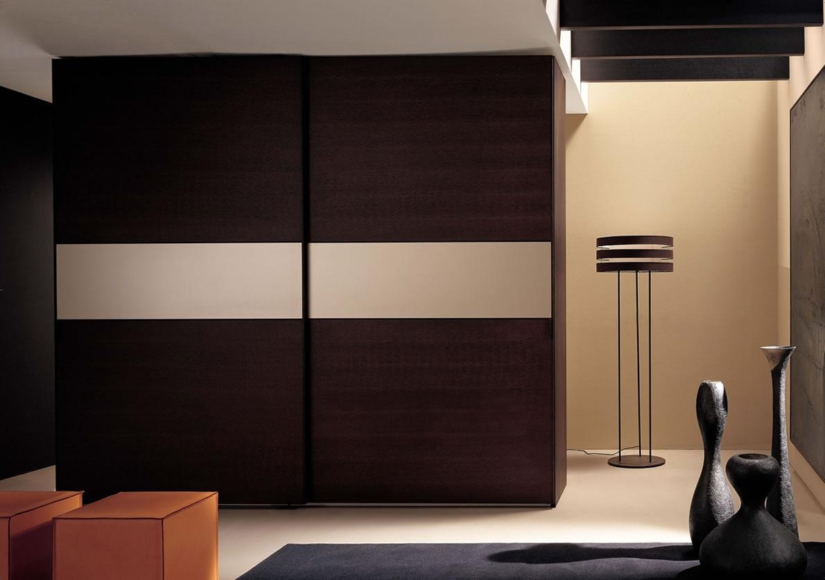 35 Modern Wardrobe Furniture Designs Within Solid Dark Wood Wardrobes (View 12 of 15)
