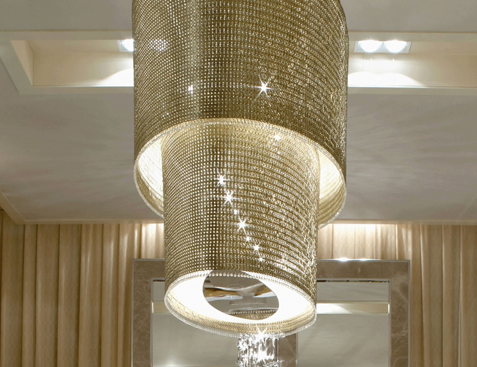 37 Best Hotel Chandeliers Images On Pinterest Inside Modern Large Chandelier (#1 of 12)