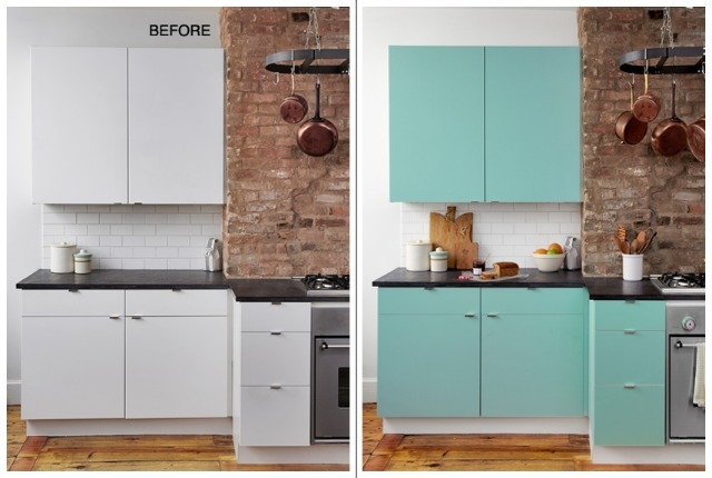 Inspiration about 4 Ways To Disguise Horrible Ugly Kitchen Cupboards Throughout Kitchen Cupboards (#13 of 15)