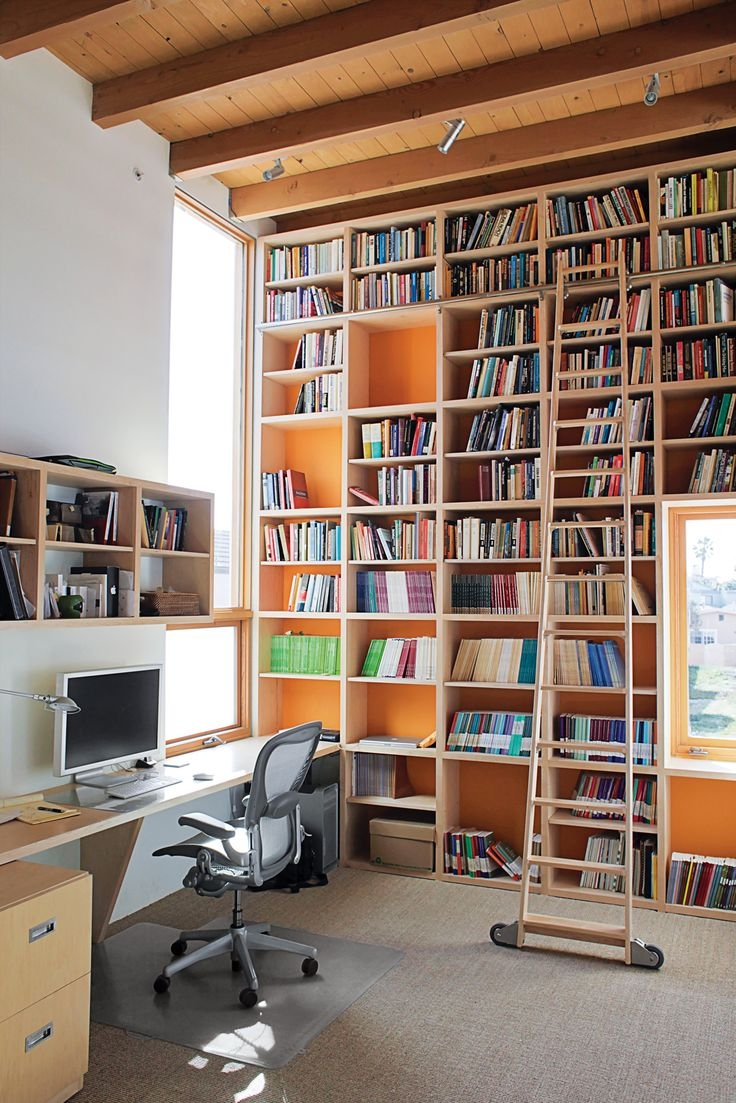 40 Best Office Study Designs Images On Pinterest Throughout Study Bookcases (#1 of 15)