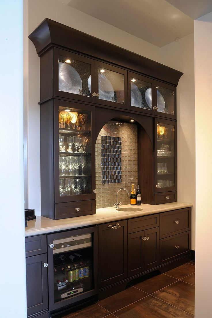 Inspiration about 42 Best Images About Bar Areas And Wine Storage On Pinterest Pertaining To Glass Shelves For Bar Area (#4 of 12)