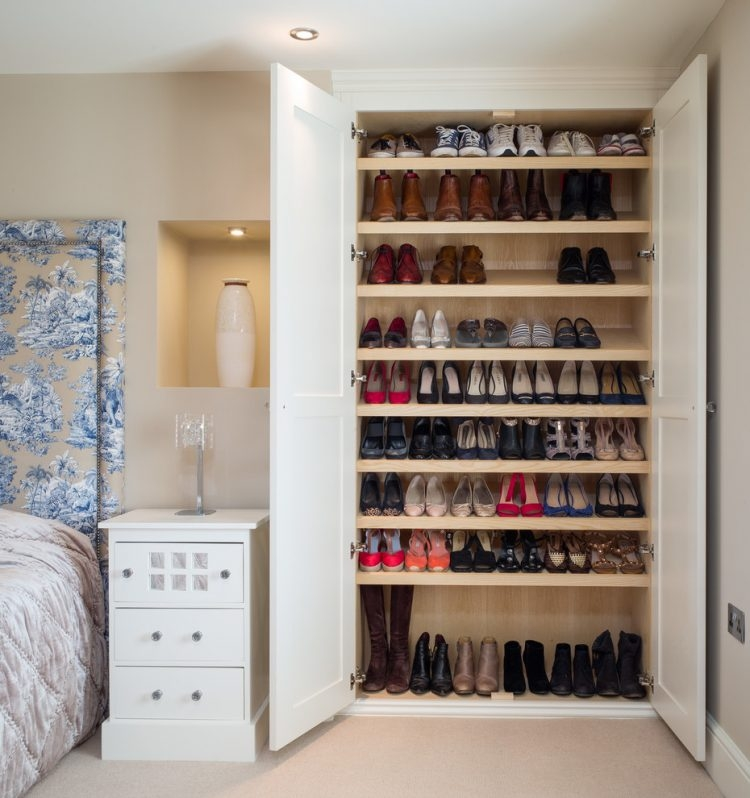 45 Creative Ideas To Store Your Shoes Shelterness Within Wardrobe Shoe Storages (View 1 of 15)