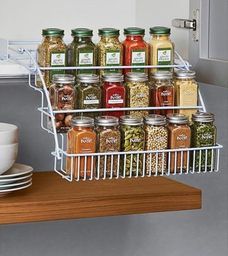 48 Kitchen Storage Hacks And Solutions For Your Home For Storage Racks For Kitchen Cupboards (#2 of 15)