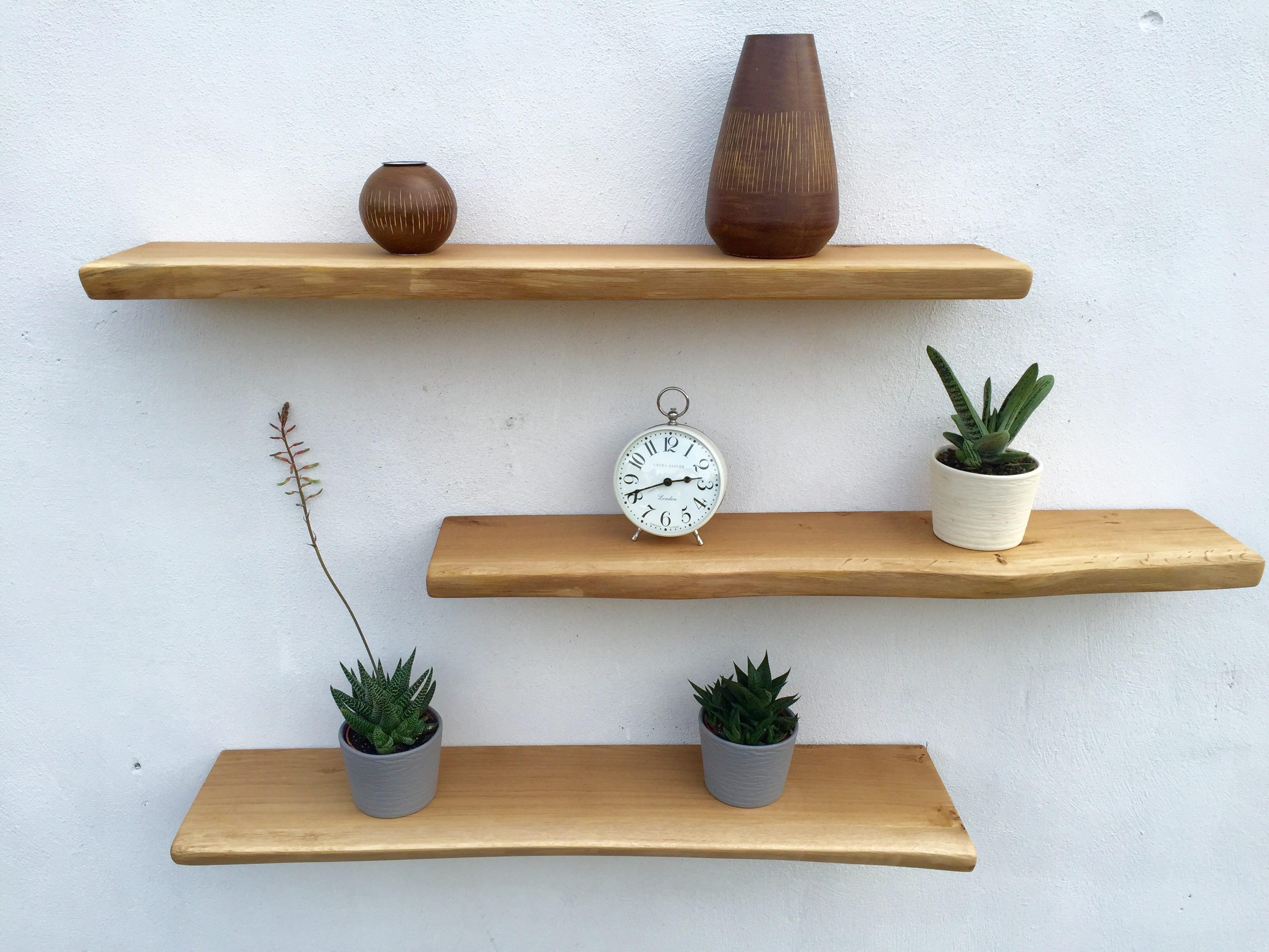 Inspiration about 5 Reasons To Choose Floating Oak Shelves Traditional Beams Regarding Oak Shelves (#3 of 15)