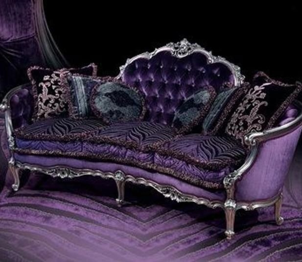 Inspiration about 6486 Best Sofa Images On Pinterest Inside Velvet Purple Sofas (#9 of 15)
