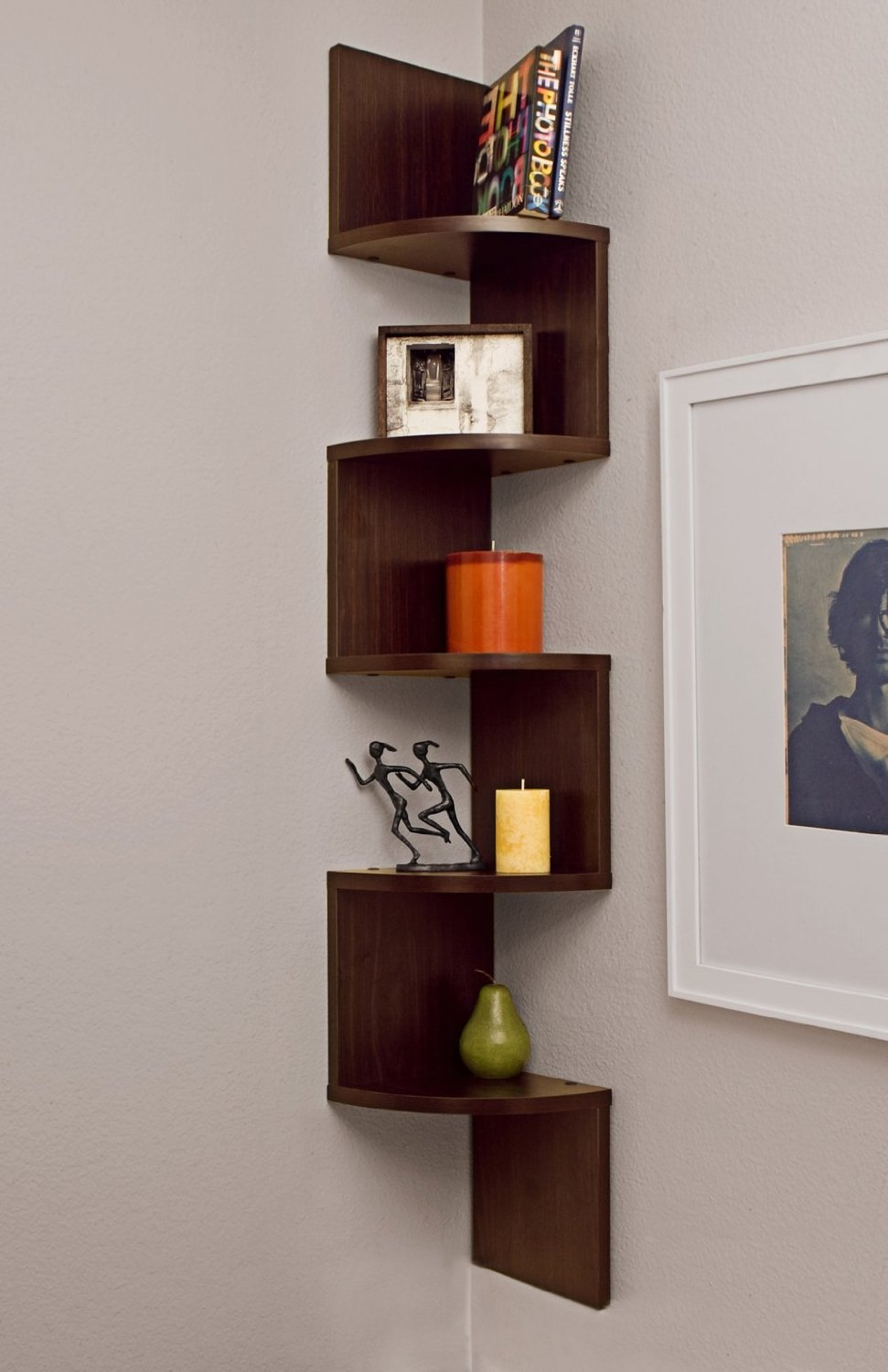 7 Main Types Of Corner Shelves Used For Decor And Storage With Corner Shelf (#2 of 12)