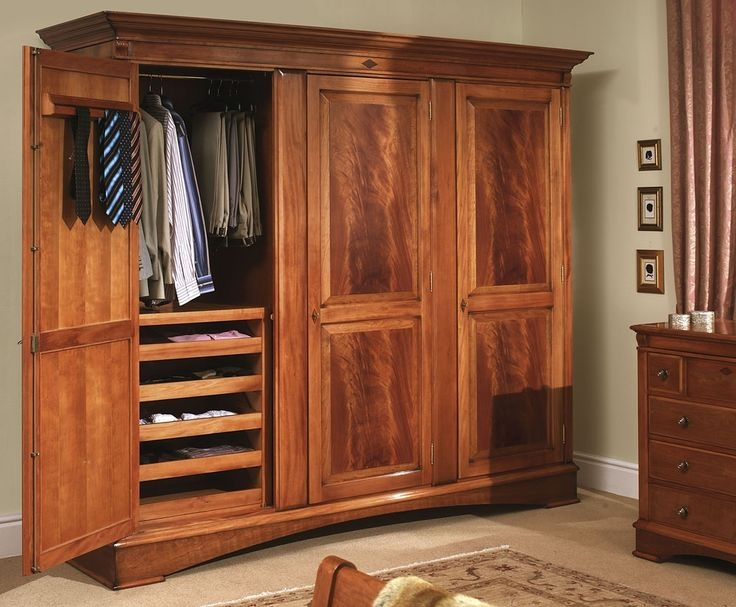 Inspiration about 94 Best Wardrobes Images On Pinterest With Regard To Large Wooden Wardrobes (#6 of 15)