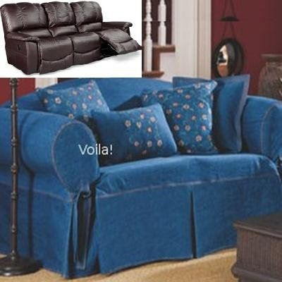 Inspiration about 95 Best Slipcover 4 Recliner Couch Images On Pinterest Intended For Teal Sofa Slipcovers (#11 of 15)