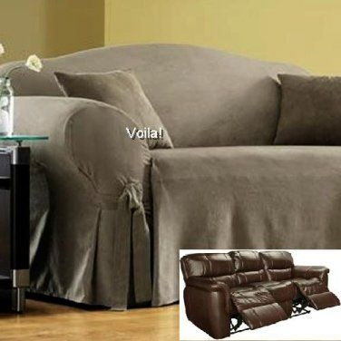 95 Best Slipcover 4 Recliner Couch Images On Pinterest Regarding Sofa Armchair Covers (#3 of 15)