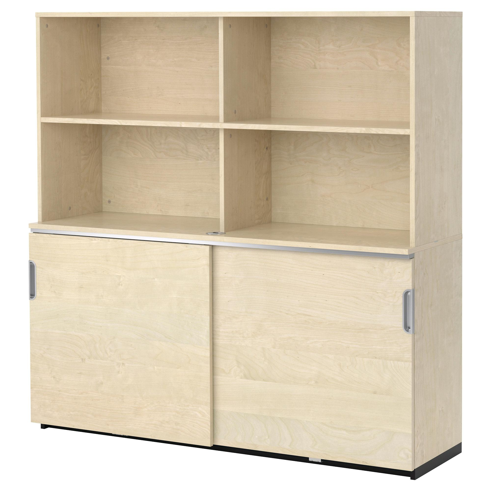 A White Tyngen Bathroom Storage Cabinet With Shelves And Throughout Large Cupboard With Shelves (#2 of 15)