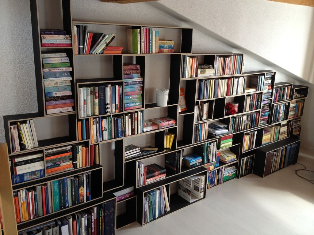 Accessories Amazing Ideas On How To Build A Wall Bookcase For Regarding Build Bookcase Wall (#1 of 15)