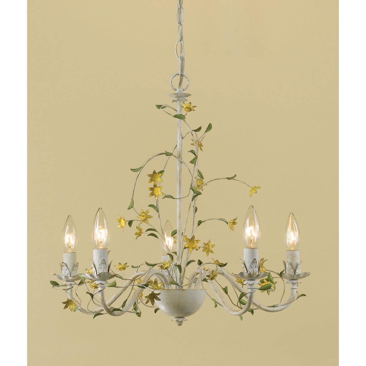 Af Lighting Star Flower 5 Light Candle Style Chandelier Reviews With Regard To Lucinda Branch Chandelier (#3 of 12)