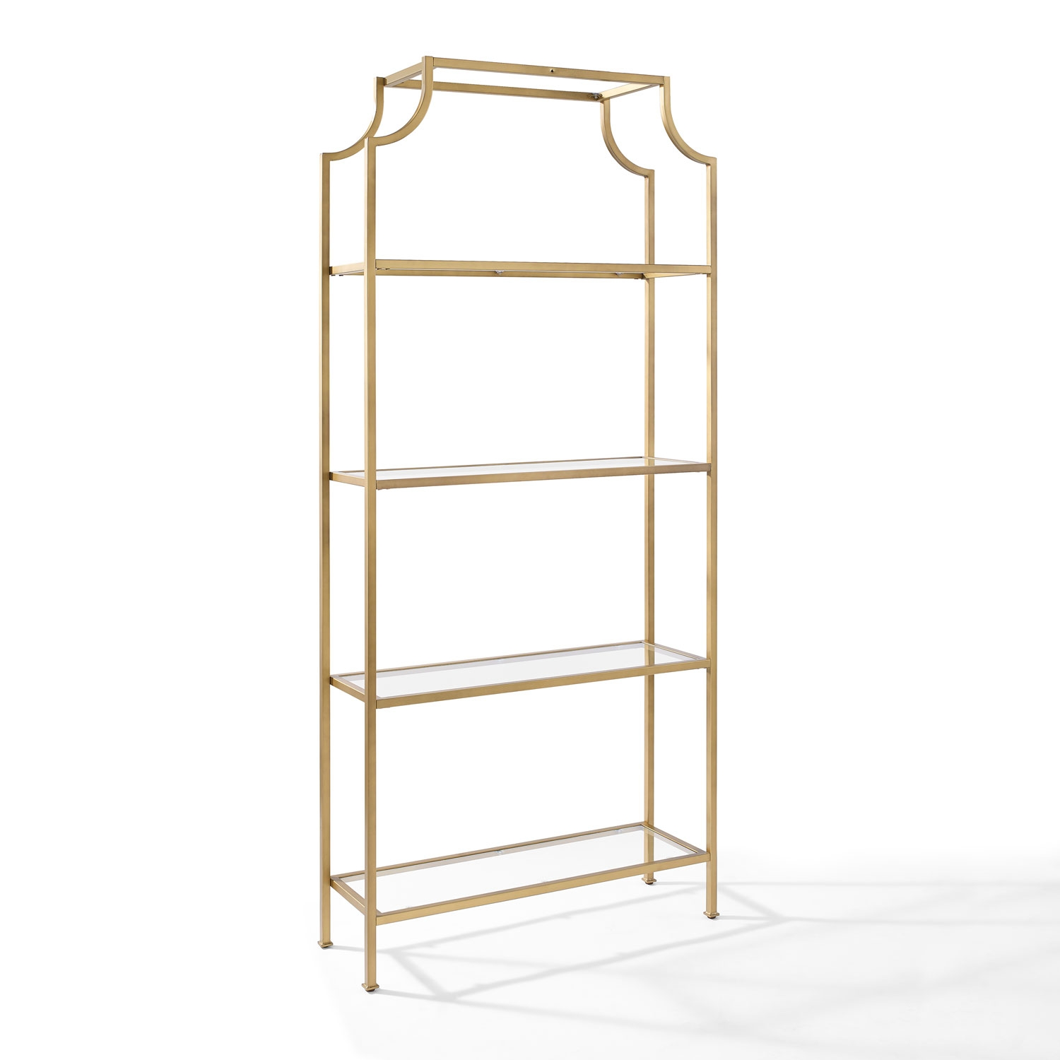 Popular Photo of Free Standing Glass Shelves