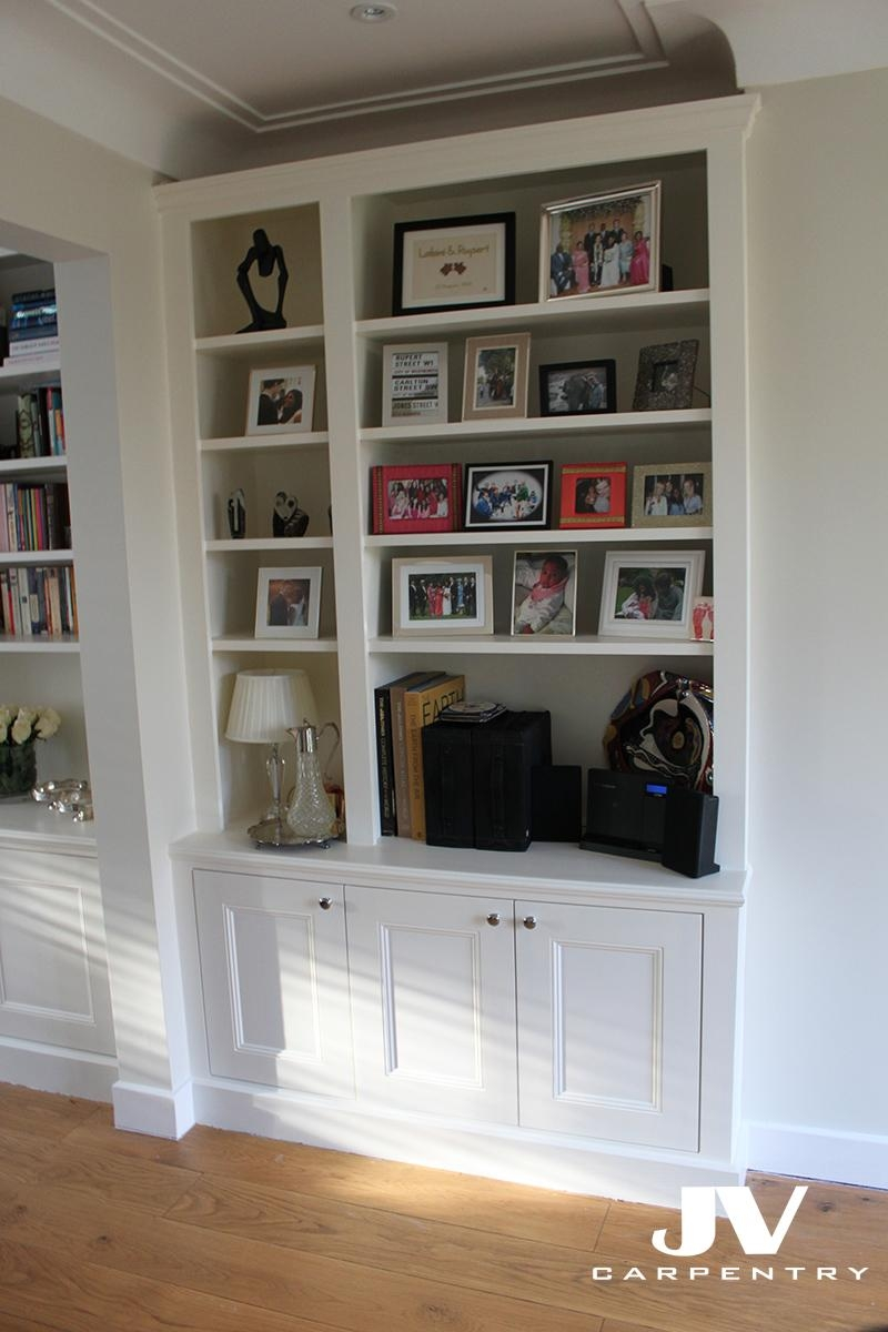 Alcove Fitted Shelving Traditional Look Fitted Furniture With Regard To Fitted Shelving (View 1 of 15)