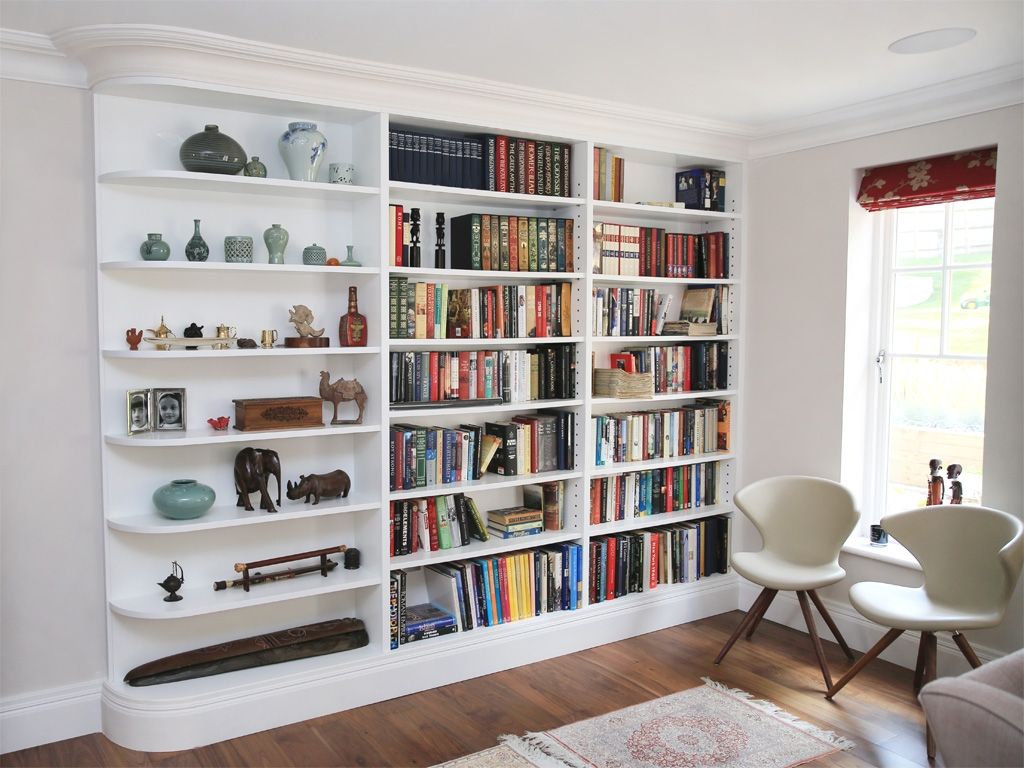 Alcove Units Custom Alcove Units Bookcases In Ireland Within Fitted Bookshelves (#1 of 15)