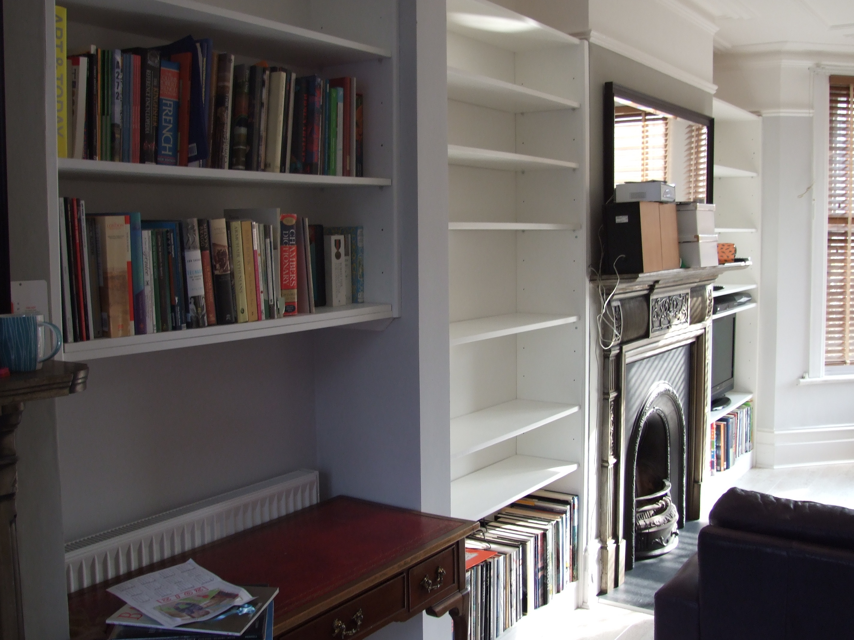 Alcove Units Fergal Joinery Pertaining To Alcove Bookcases (#3 of 15)