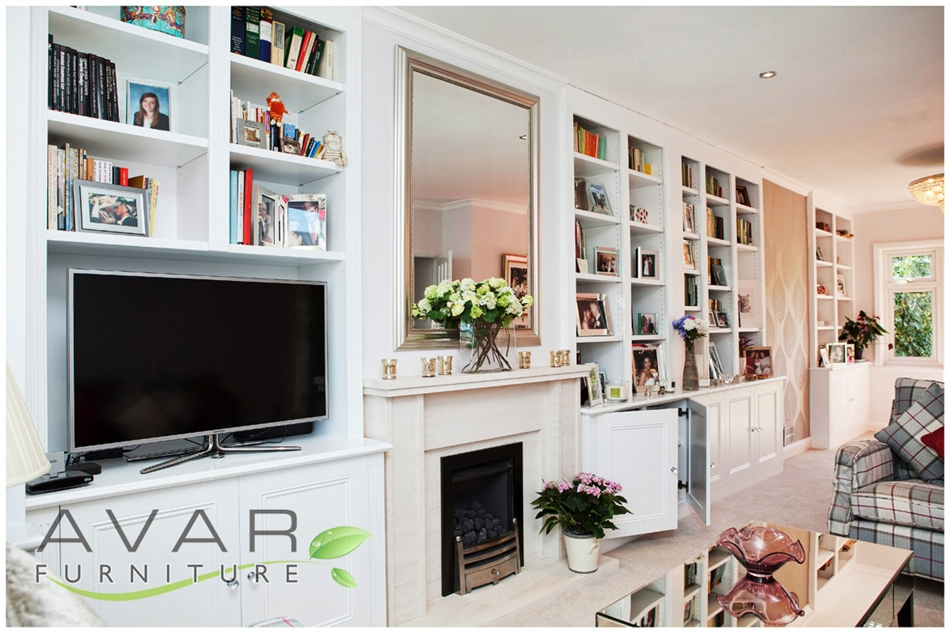 Alcove Units Ideas Gallery 1 North London Uk Avar Furniture For Bespoke Shelving
