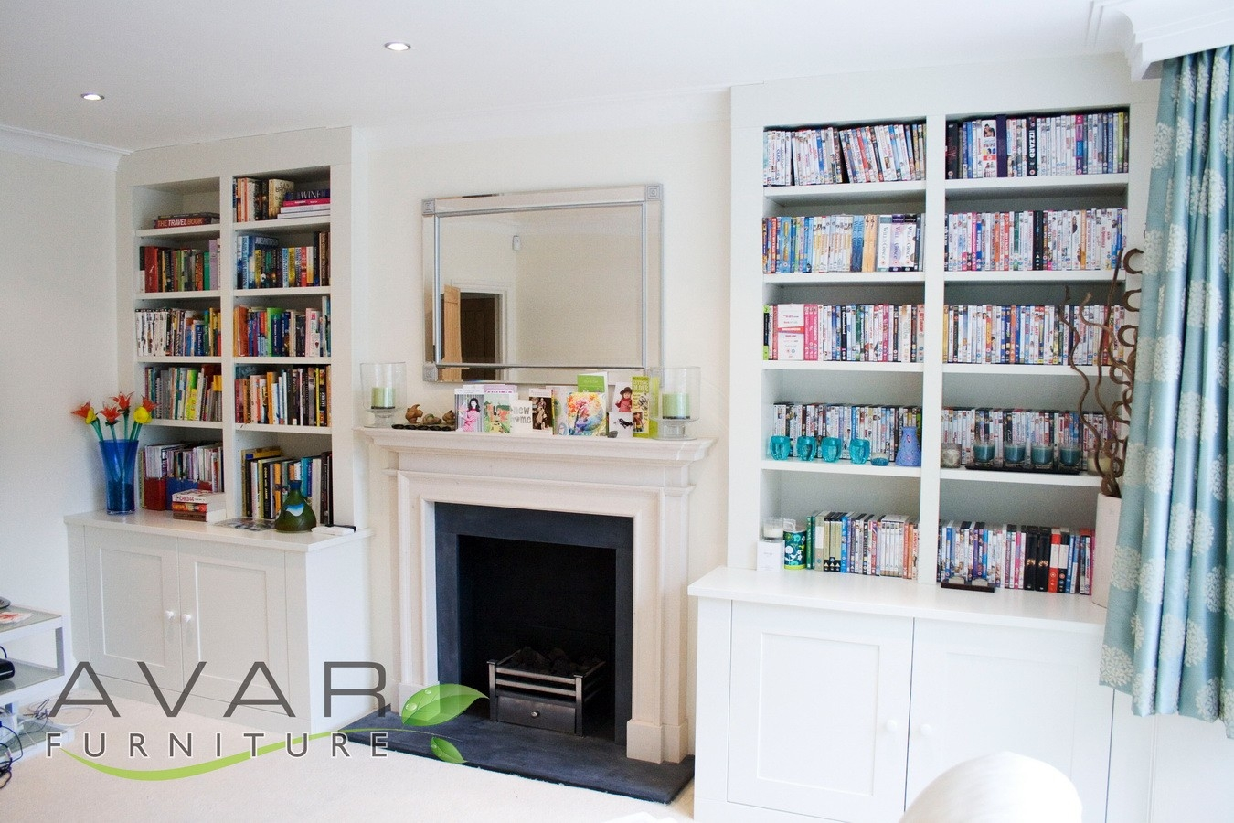 Alcove Units Ideas Gallery 5 North London Uk Avar Furniture With Regard To Fitted Book Shelves (#1 of 15)