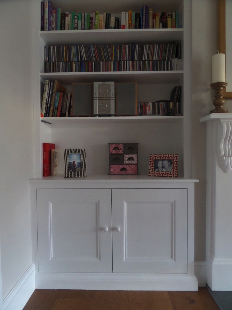 Alcoves James Houseman With Alcove Bookcases (#4 of 15)