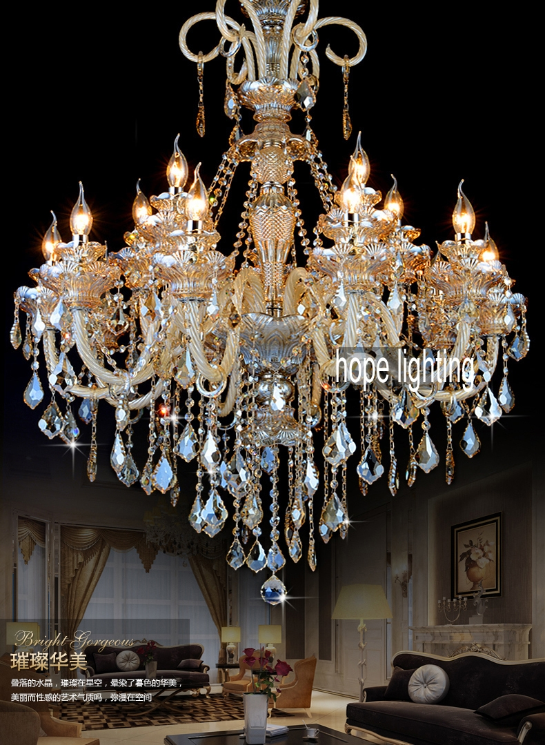 Aliexpress Buy Entranceway Door Lighting Hotel Long Intended For Long Chandelier Lights (#4 of 12)