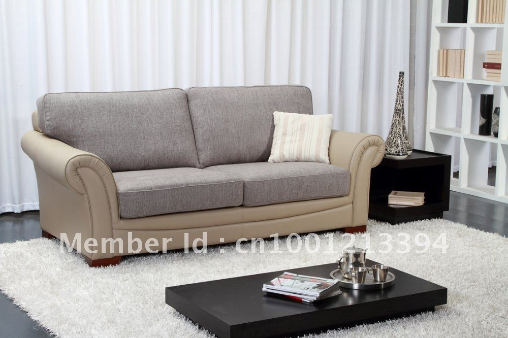 Aliexpress Buy Modern Furniture Living Room Fabric Sofa 3 Inside Modern 3 Seater Sofas (#2 of 15)