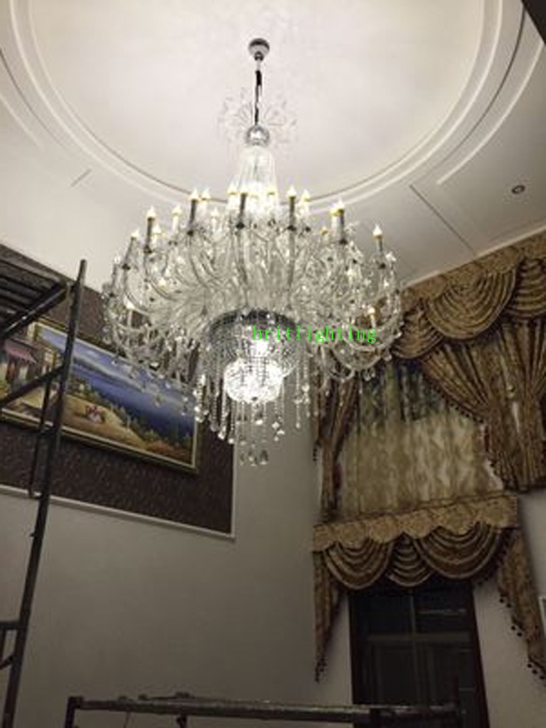 Aliexpress Buy Modern Large Chandeliers Crystal Pendants For With Regard To Modern Large Chandelier (#2 of 12)