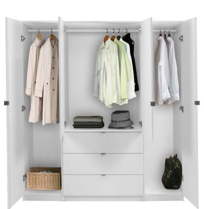 Alta Armoire Plus Closet Package Contempo Space Regarding White Wardrobe Armoire (View 1 of 15)