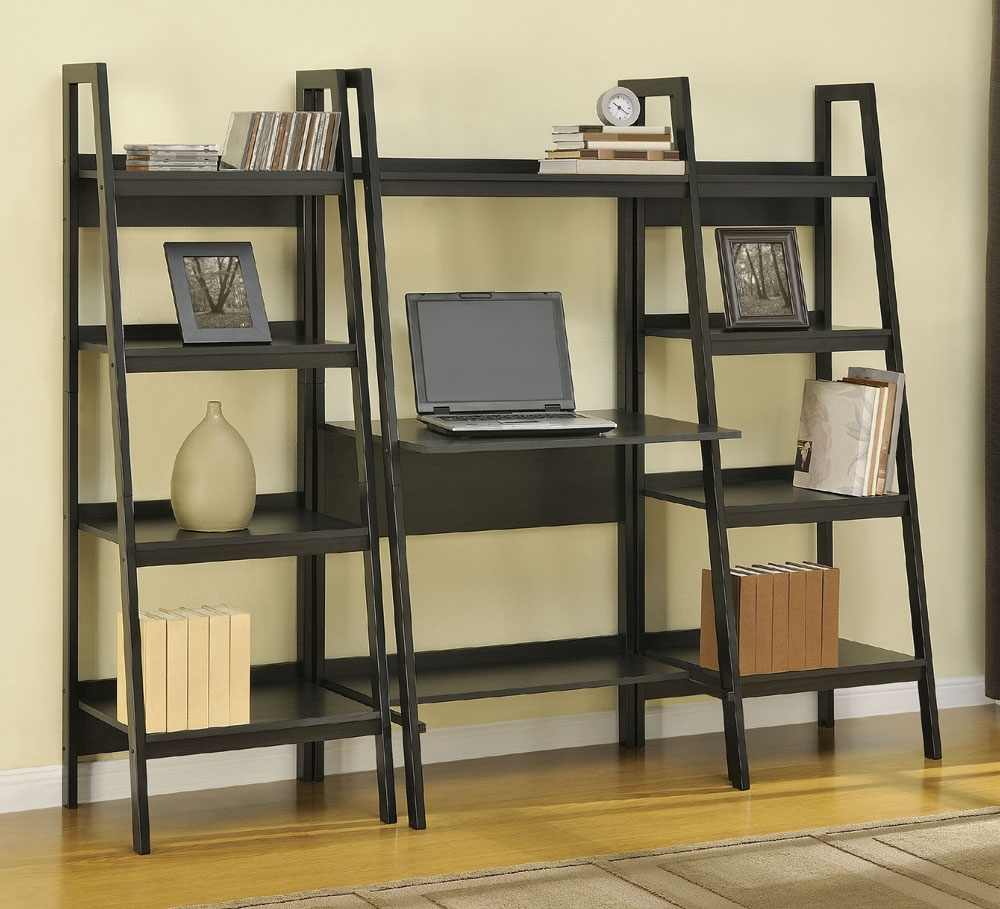 Altra Ladder Bookcase Bundle 9482096 Within Ladder Bookcase (#3 of 15)
