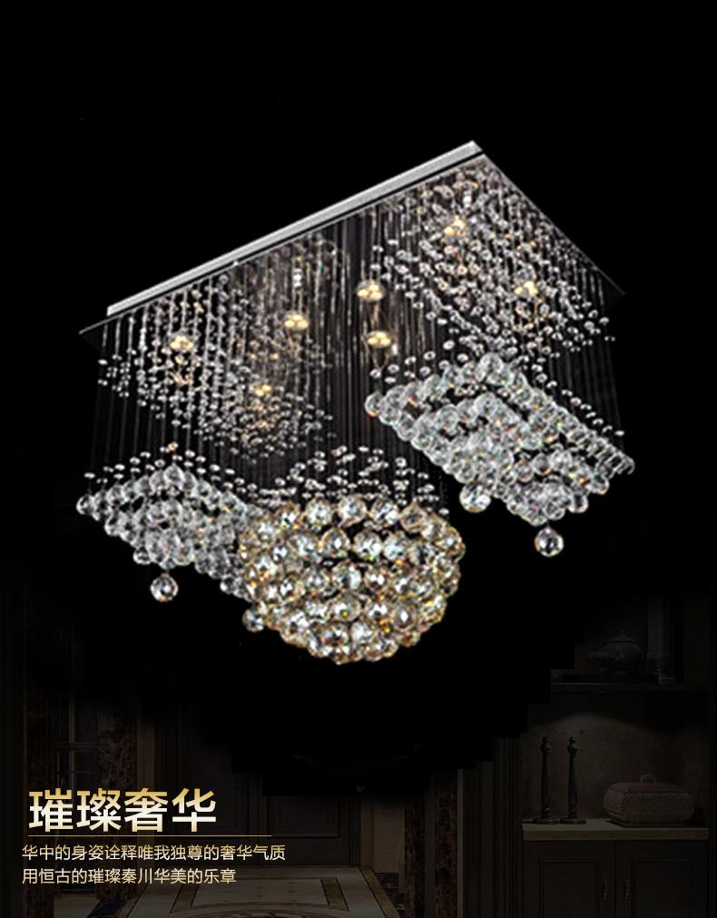 Amazing Of Contemporary Large Chandeliers Fabulous Crystal Intended For Large Contemporary Chandeliers (#1 of 12)