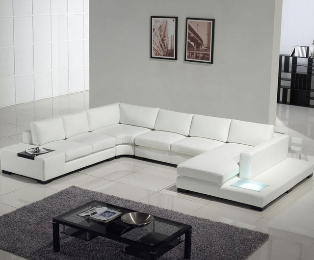 Amazing Of Modern Sofa White White Black Modern Sofa Leather 2011 Pertaining To White Modern Sofas (#3 of 15)