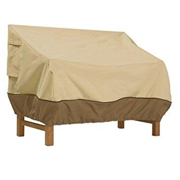 Amazon Classic Accessories Veranda Sofa Loveseat Cover With Garden Sofa Covers (#2 of 15)