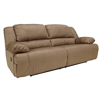 Amazon Contemporary Mocha Hogan 2 Seat Reclining Sofa Inside 2 Seat Recliner Sofas (#3 of 15)