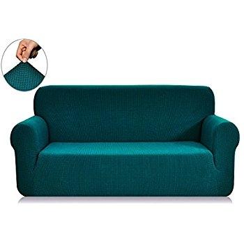 Popular Photo of Teal Sofa Slipcovers