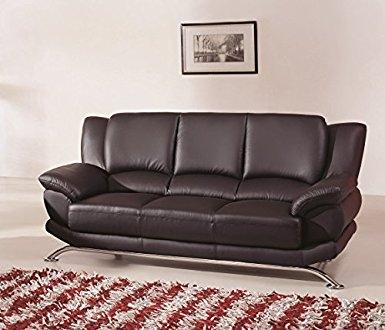 Popular Photo of Contemporary Black Leather Sofas