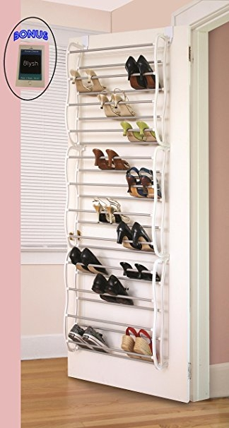 Amazon Over The Closet Shoe Storage Rack Can Also Be Wall For Wardrobe Shoe Storages (View 3 of 15)