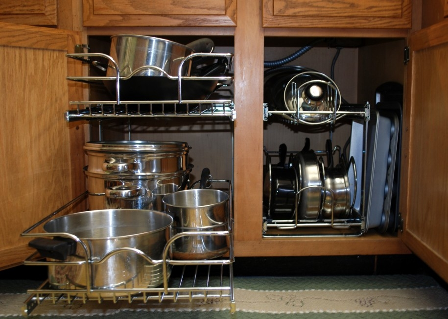 Amusing Kitchen Cabinet Storage Shelves Ideas Home Depot Kitchen In Storage Racks For Kitchen Cupboards (#3 of 15)