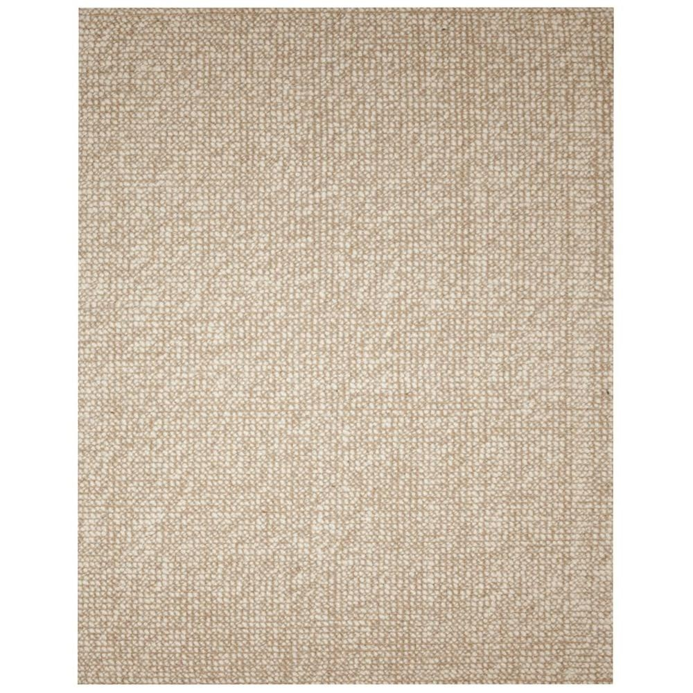 Anji Mountain Zatar Beige And Tan 8 Ft X 10 Ft Wool And Jute In Jute And Wool Area Rugs (View 1 of 7)